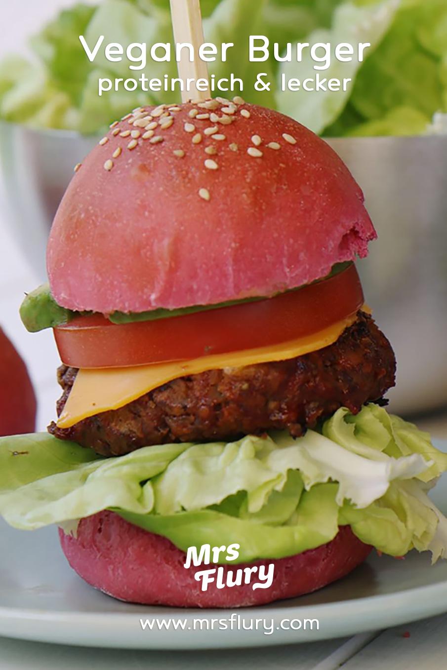 Veganer Hamburger Rezept Mrs Flury