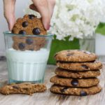 Beste Chocolate Chip Cookies vegan & glutenfrei Mrs Flury