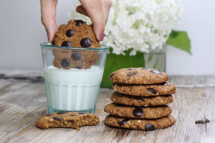 Beste Chocolate Chip Cookies (vegan & glutenfrei)