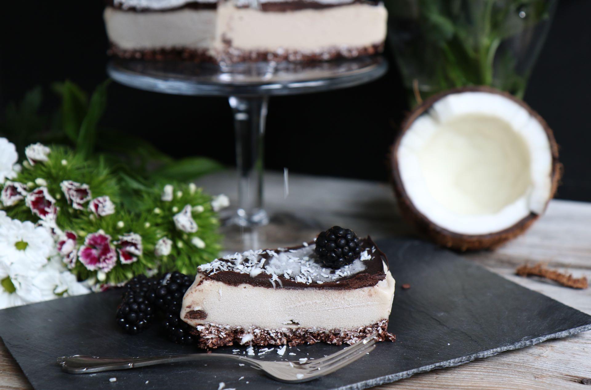 nice cream kuchen baneneneis