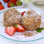 Gesunde Erdbeer Topfenknödel