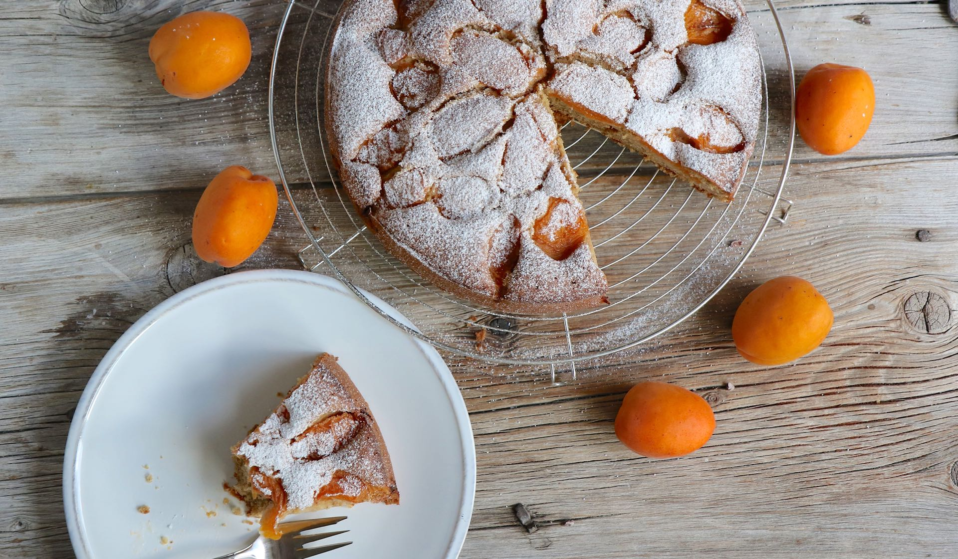 Aprikosenkuchen Mrs Flury Blog