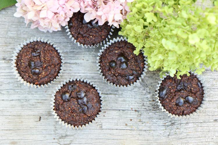 Schoko-Bananen Quinoa-Muffins | ohne Mehl und ohne Zucker!