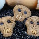 Gesunde Halloween Kekse - Totenkopf Cookies Mrs Flury