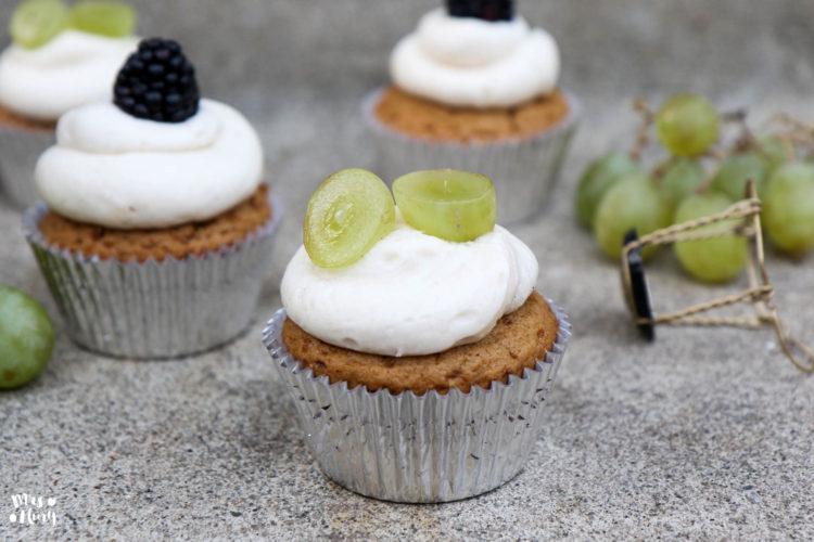 Champagner Cupcakes | Prosit neues Jahr!