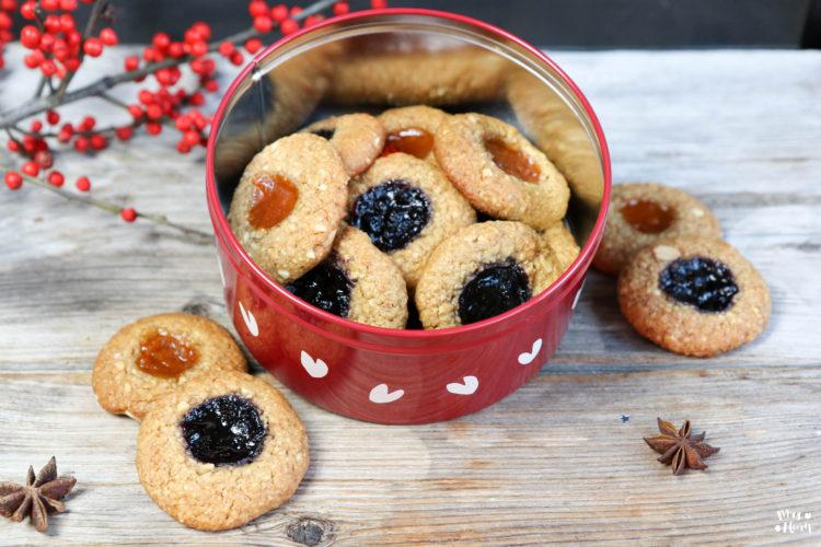 Engelsaugen zuckerfrei glutenfrei Rezept Mrs Flury