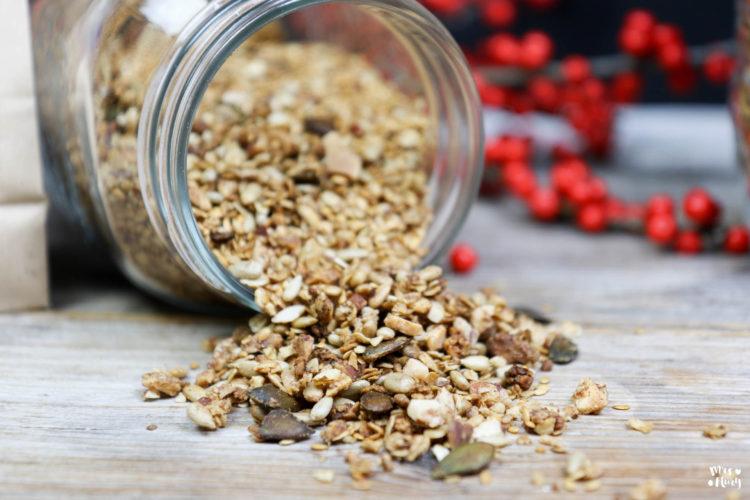 Granola selber machen | DIY Geschenk und Frühstück