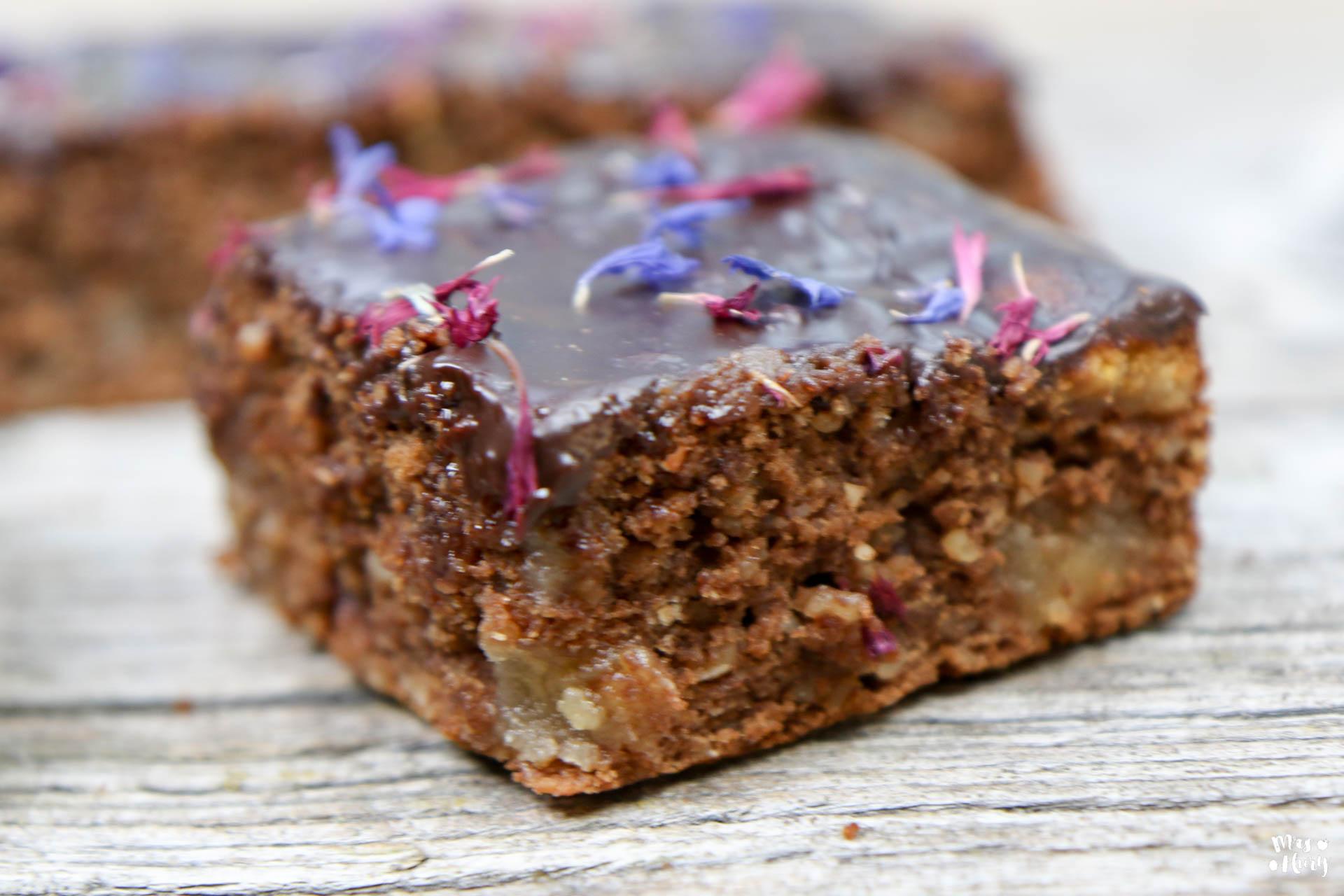 lebkuchen brownies mrs flury gesund essen leben. Black Bedroom Furniture Sets. Home Design Ideas