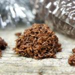 Schoko Kokosmakronen ohne Ei Rezept vegan Mrs Flury