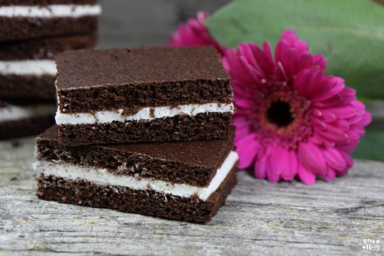 Protein Milchschnitte low carb | ohne Zucker und ohne Mehl
