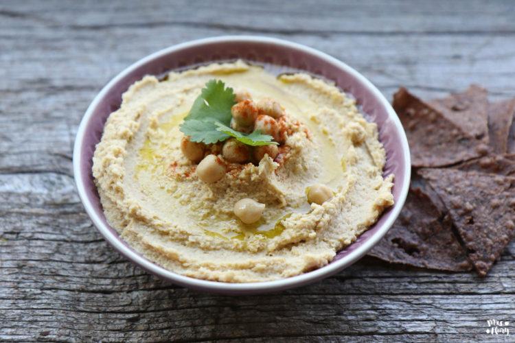 Bestes Hummus Rezept – Gesunder Brotaufstrich / Dip