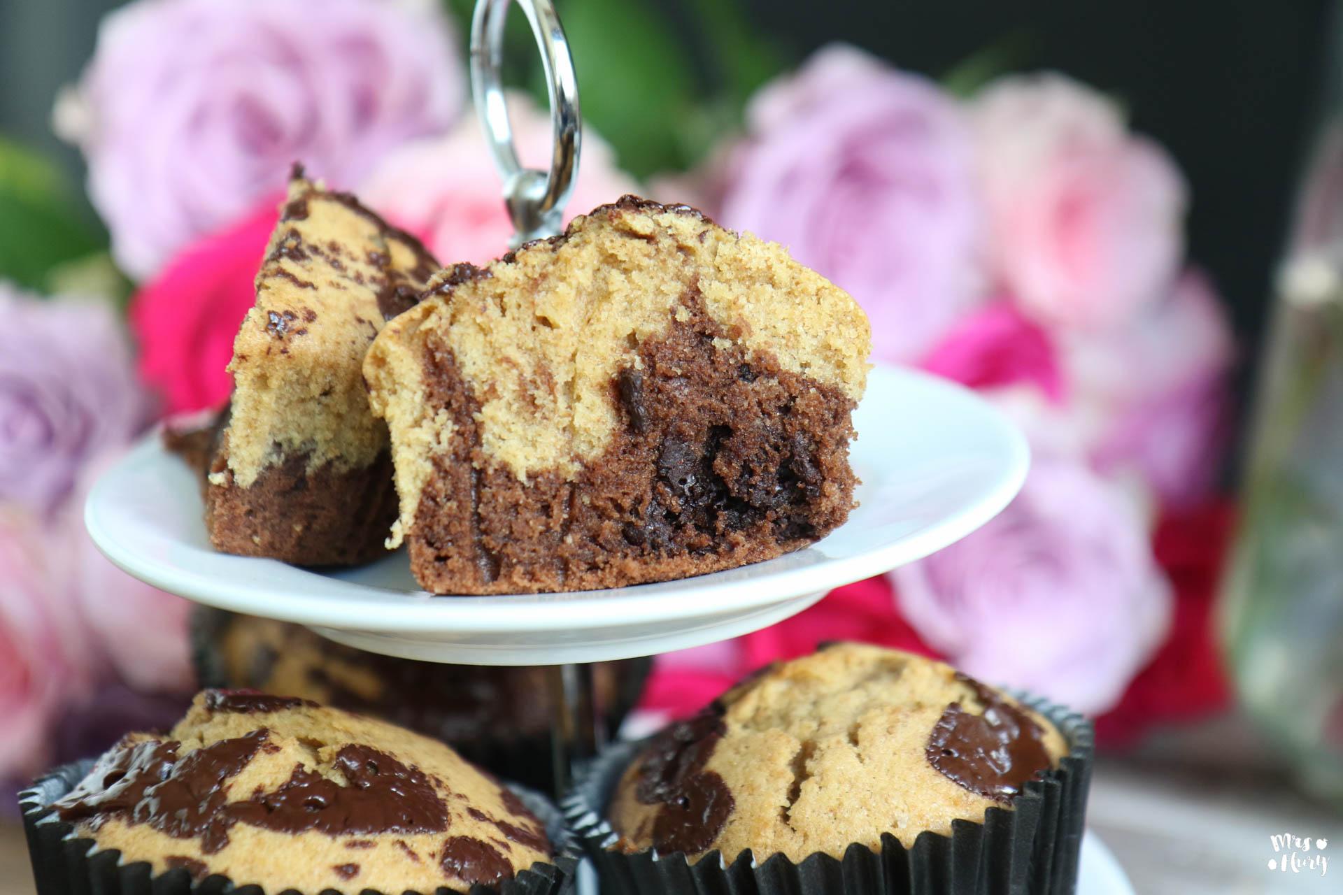 Beste Marmor Muffins Perfekt Fur Kinder Mrs Flury Gesund Essen