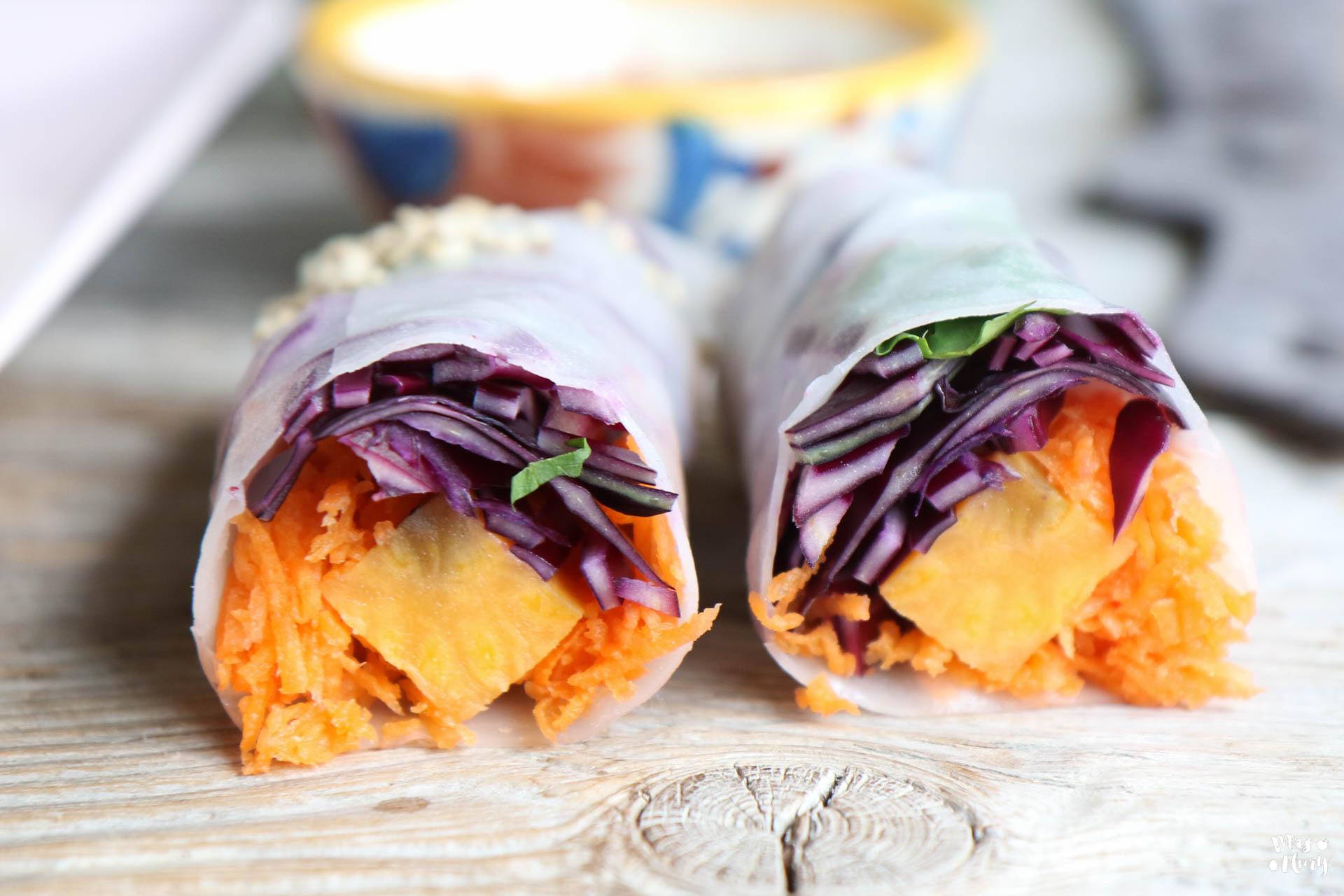 summer rolls rezept schneller und gesunder snack mrs flury gesund essen leben. Black Bedroom Furniture Sets. Home Design Ideas