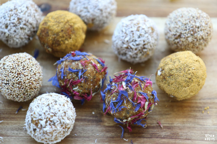 Karotten Bliss Balls vegan & glutenfrei