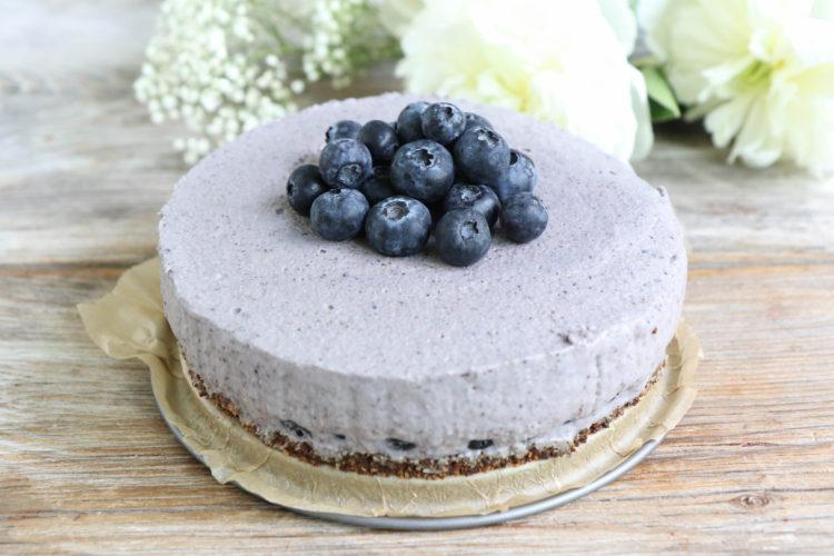 Heidelbeer Cheesecake vegan