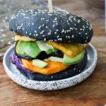 Veganer Burger vom Grill mit Süsskartoffel Mrs Flury
