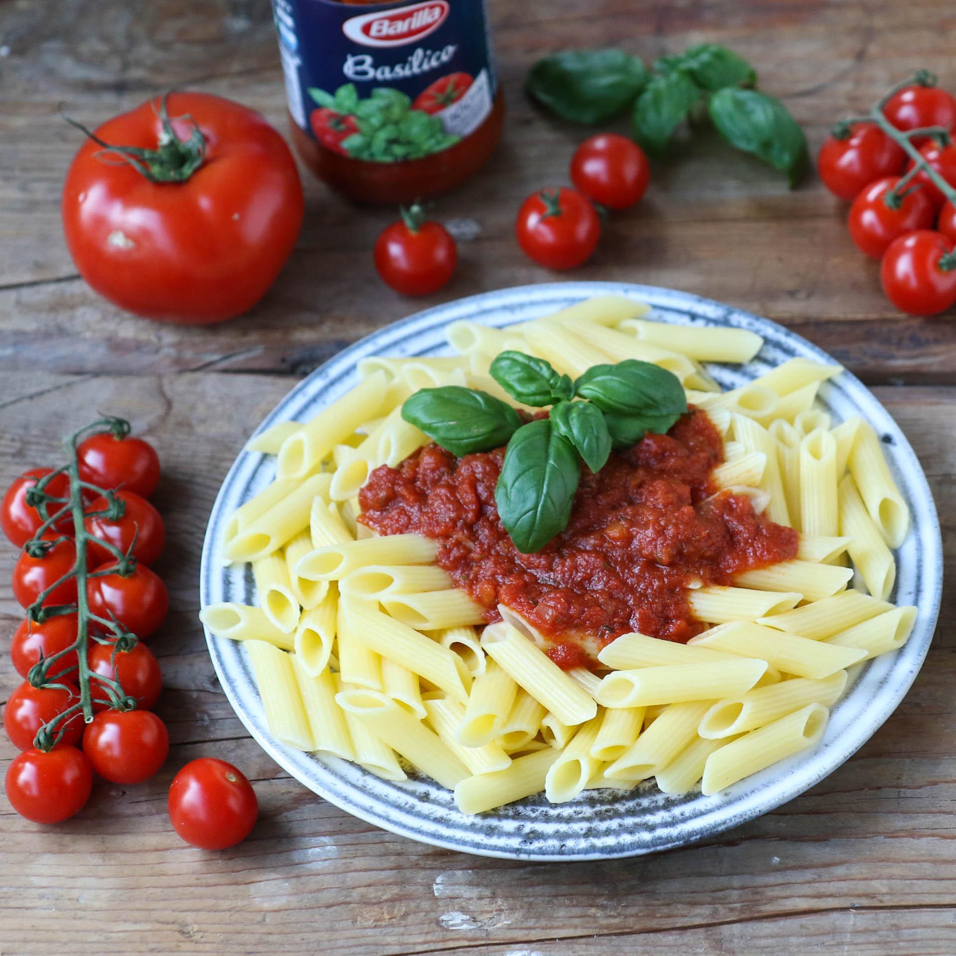 Barilla Tomaten Sauce Mrs Flury