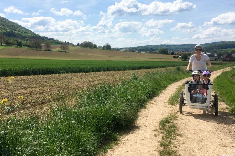 Radtour mit dem Bosch eCargobike