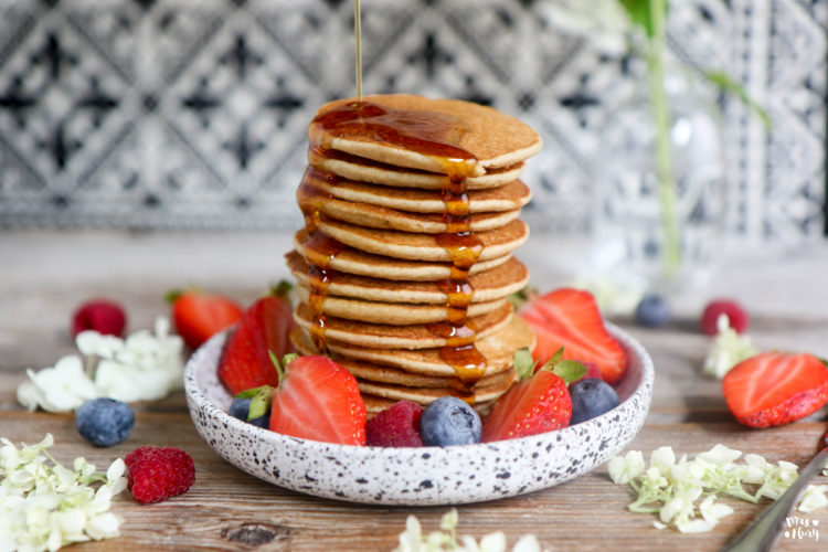 Gesunde Pancakes – mit nur 3 Zutaten!