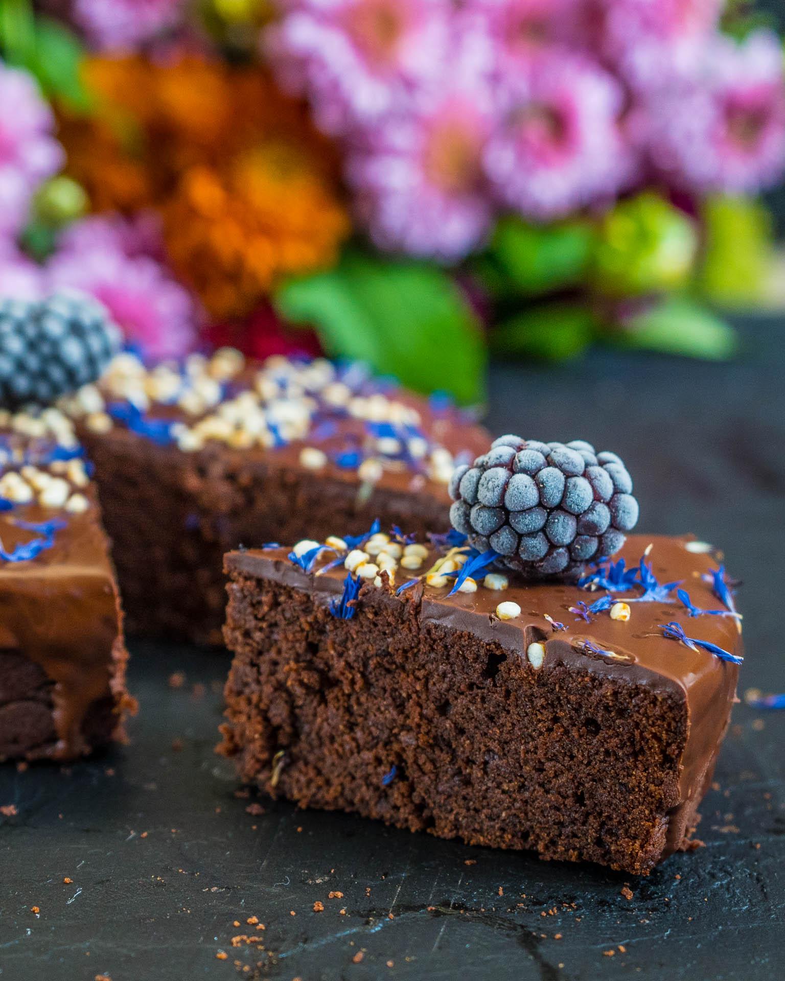 Gesunder Schokokuchen Vegan Ohne Zucker Mrs Flury Gesund Essen