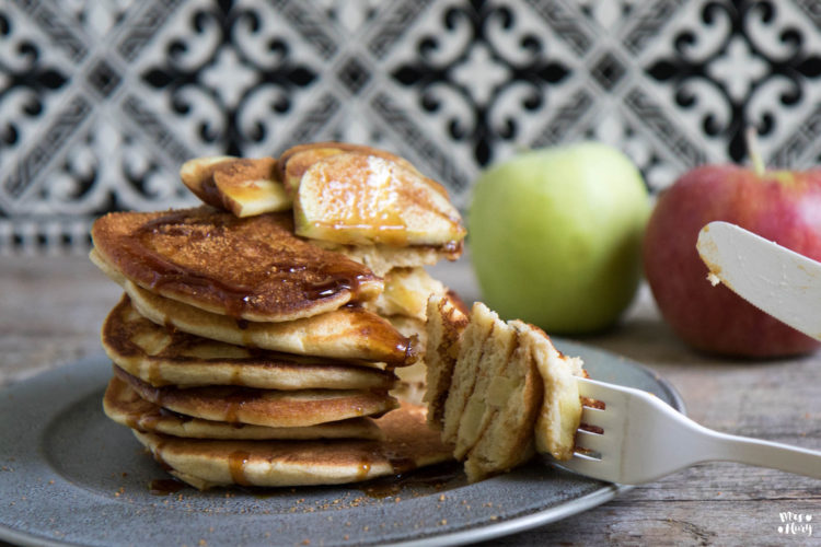 Apfel Pfannkuchen wie von Oma