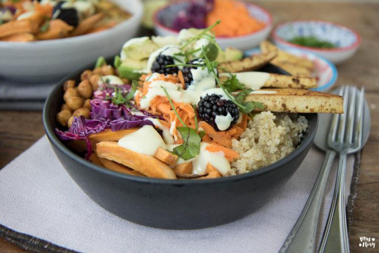 Protein Buddha Bowl vegan