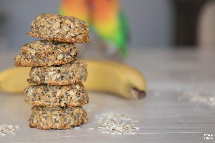 Gesunde Haferflocken Kekse ohne Zucker