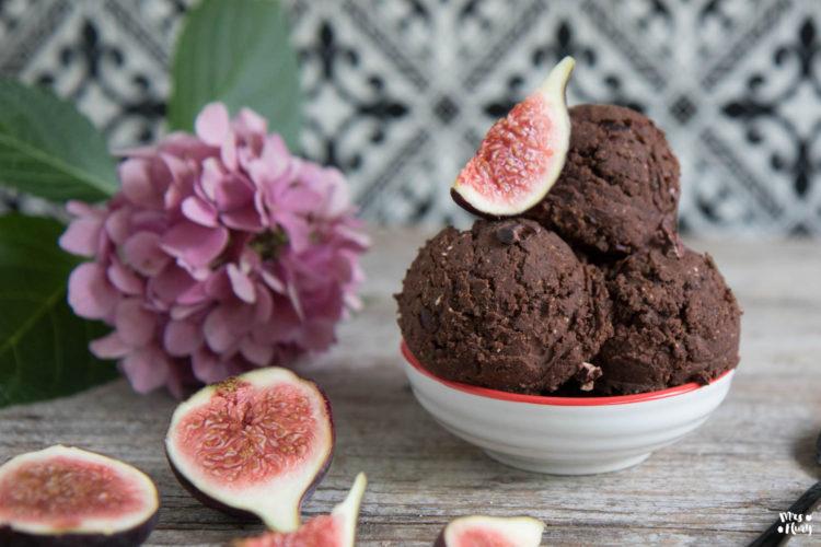 Gesunder essbarer Keksteig / Cookie Dough vegan