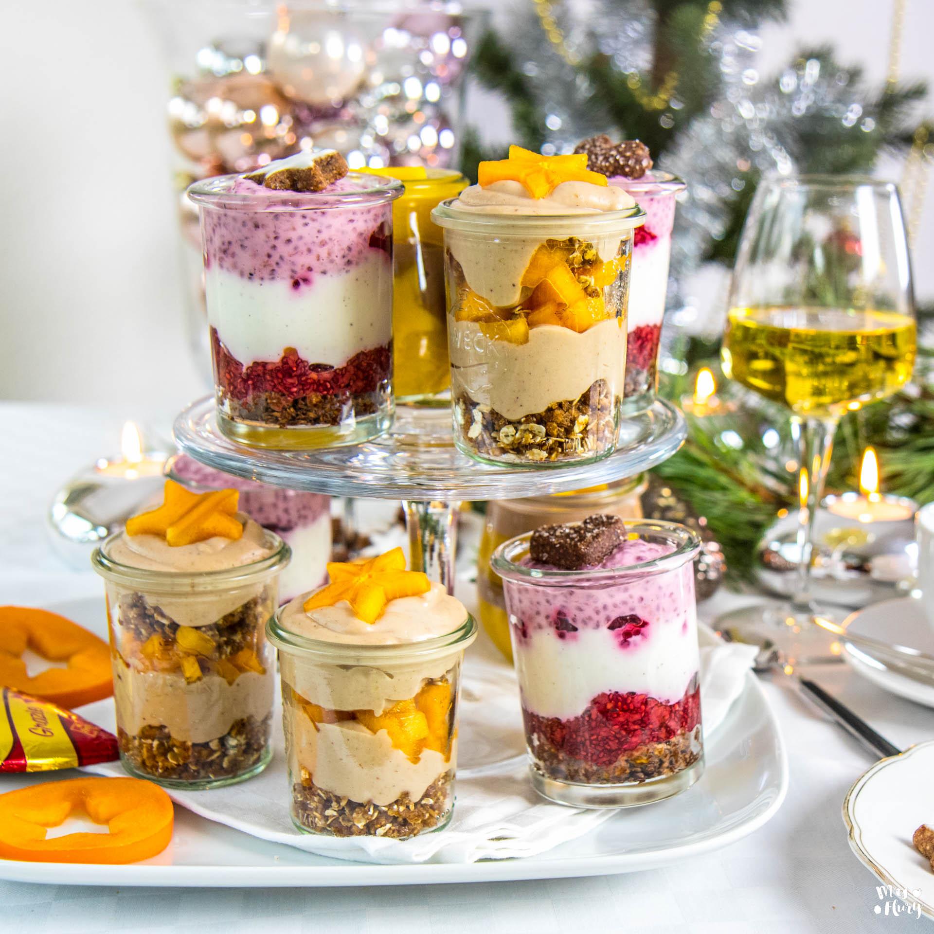 3 gesunde desserts im glas mrs flury gesund essen leben. Black Bedroom Furniture Sets. Home Design Ideas