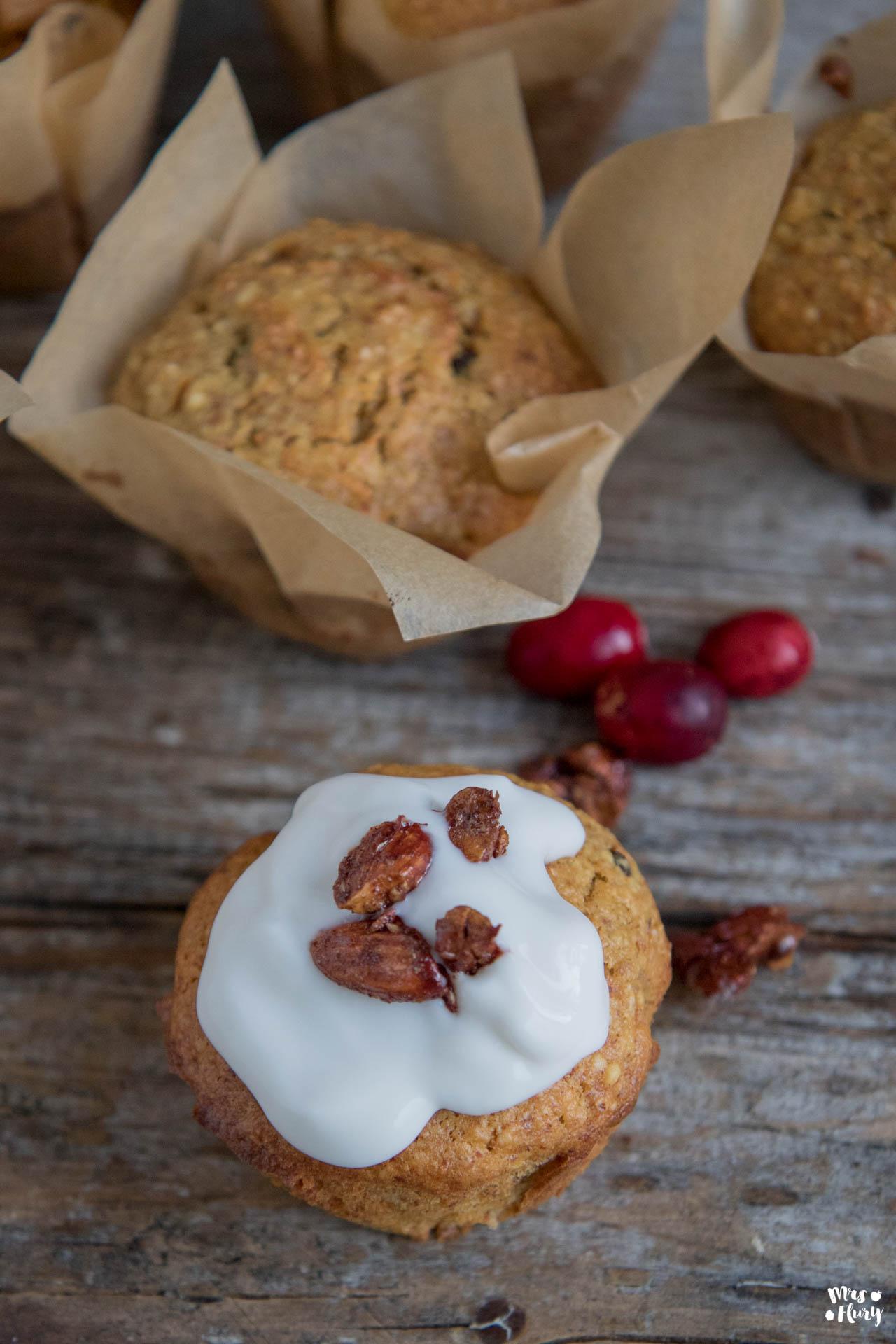 Karotten Muffins Ohne Mehl Und Weissen Zucker Mrs Flury Gesund