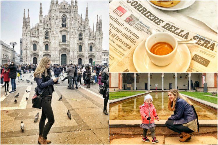Wochenendtrip nach Mailand zu dritt