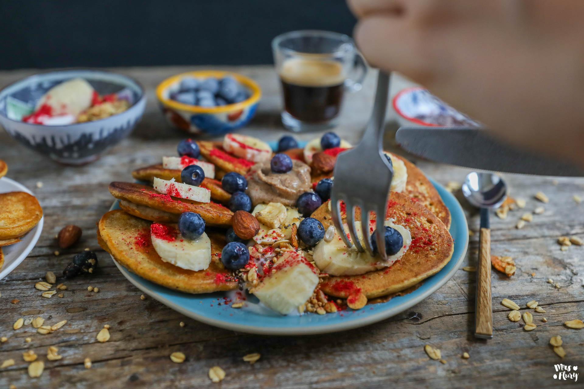 Orangen Karotten Pancakes vegan & glutenfrei