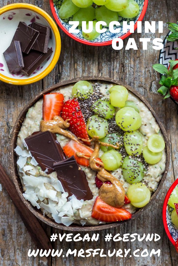 Zoats Zucchini Oats - Gesunder Porridge vegan