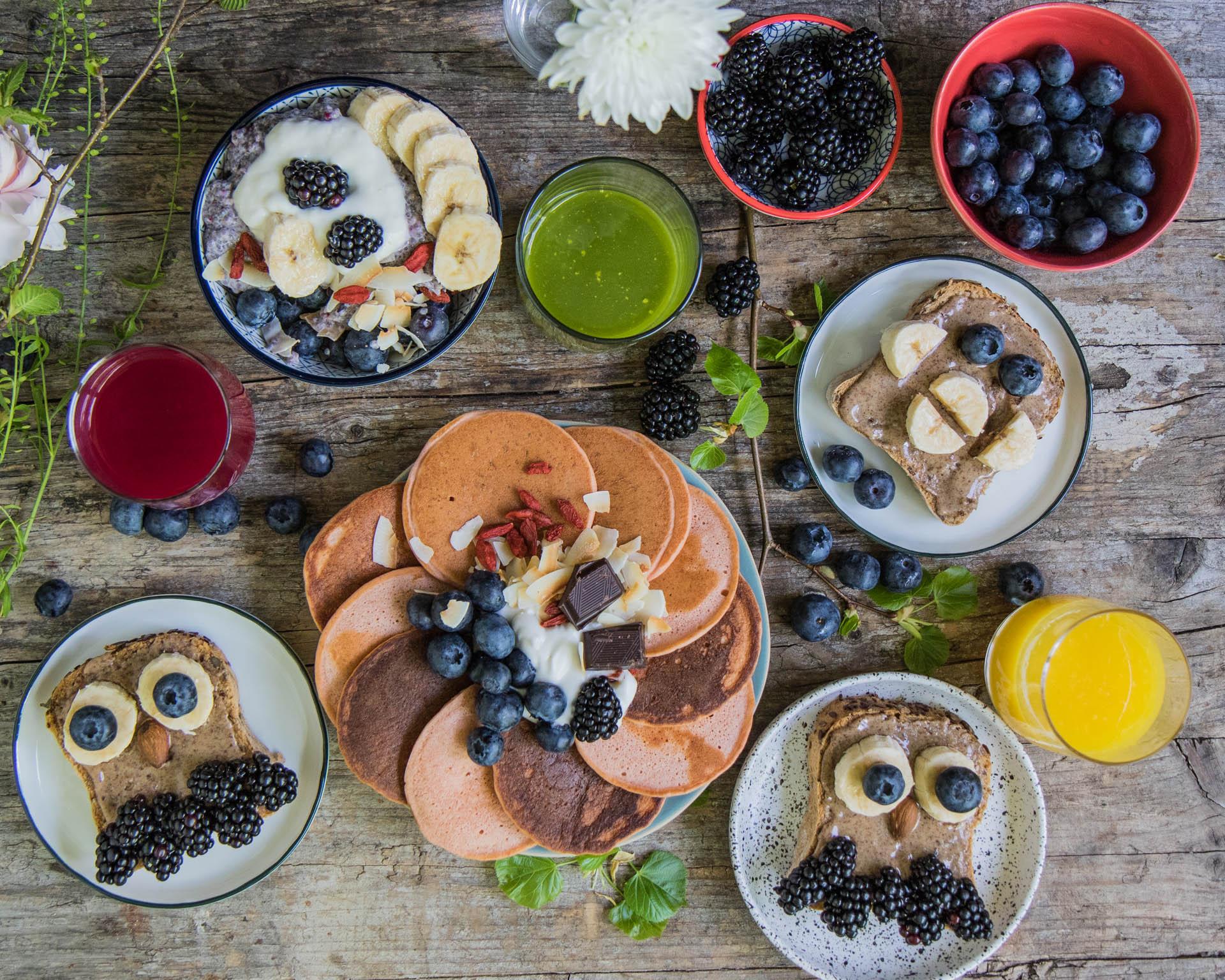 Buntes Frühstück Mrs Flury
