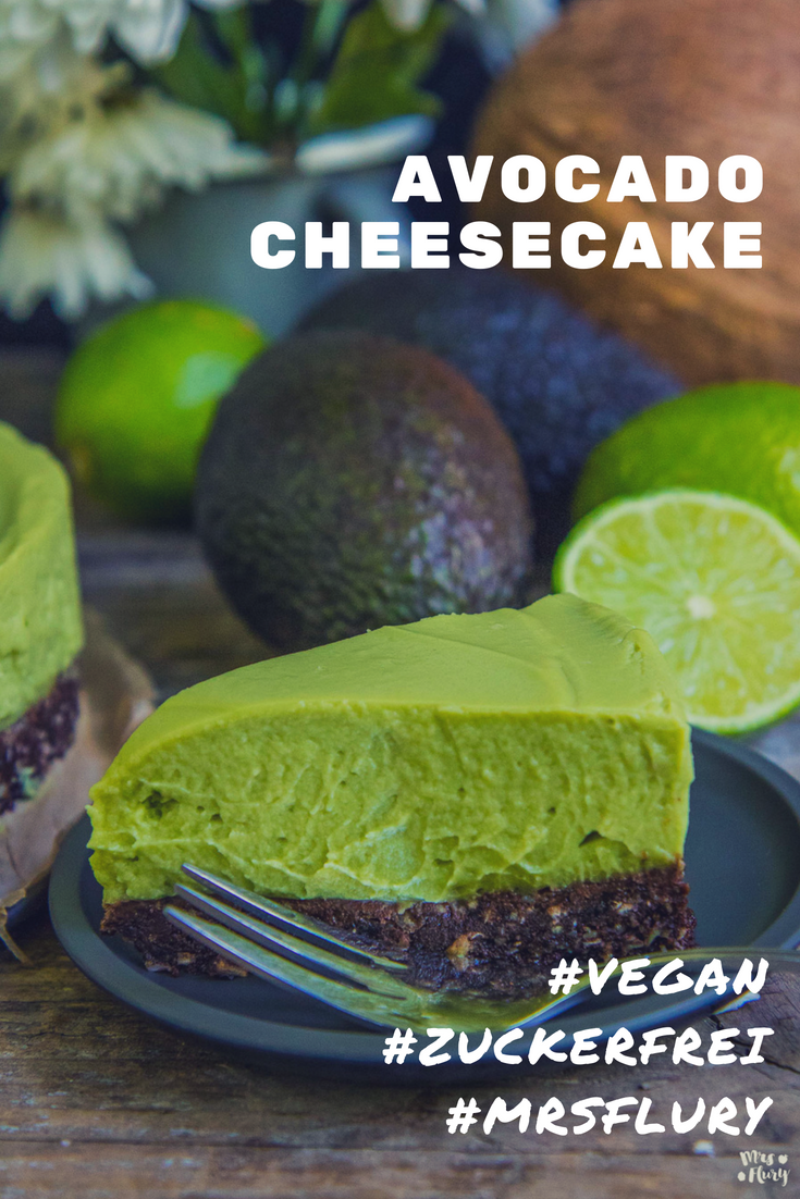 Avocado Cheesecake Pinterest