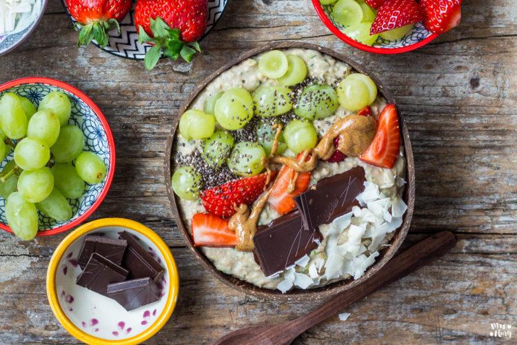Zoats / Zucchini Oats / Porridge vegan
