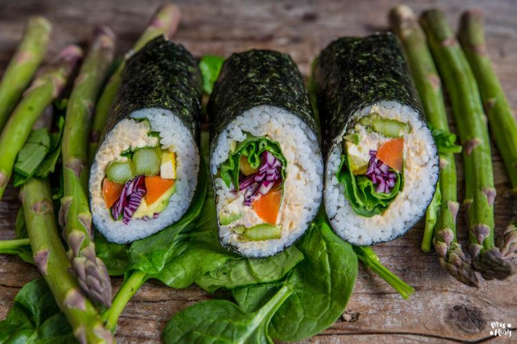 Mrs Flury Sushi Roll Burrito vegan
