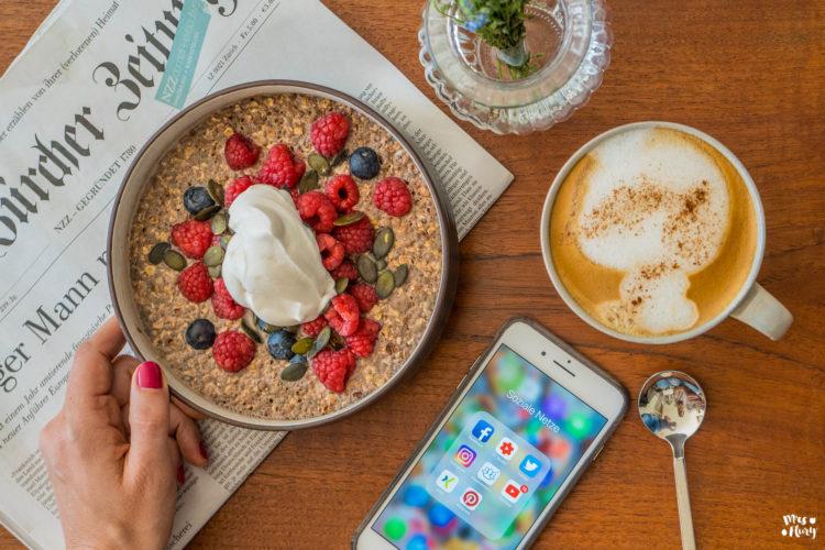 Was ich an einem Tag esse – VLOG als Youtuber