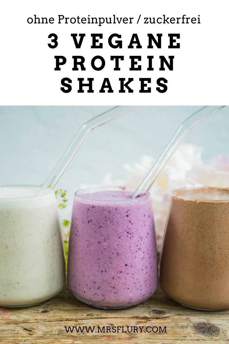3 Vegane Protein Shake ohne Proteinpulver Mrs Flury