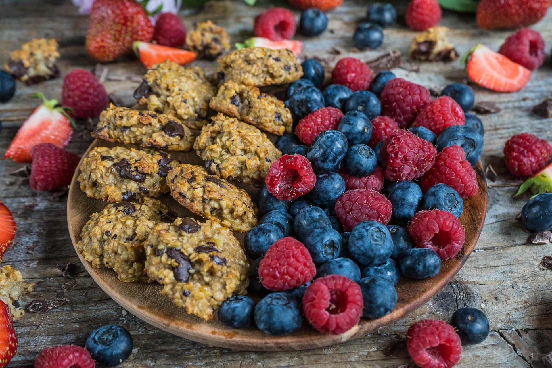 Nice Cookies gesund & lecker, vegan Mrs Flury