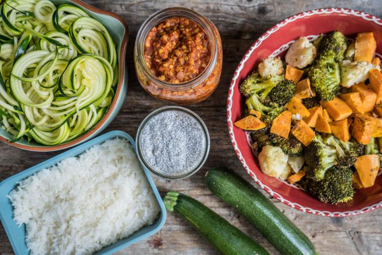 Meal Prep – 5 Zutaten für gesunde Gerichte