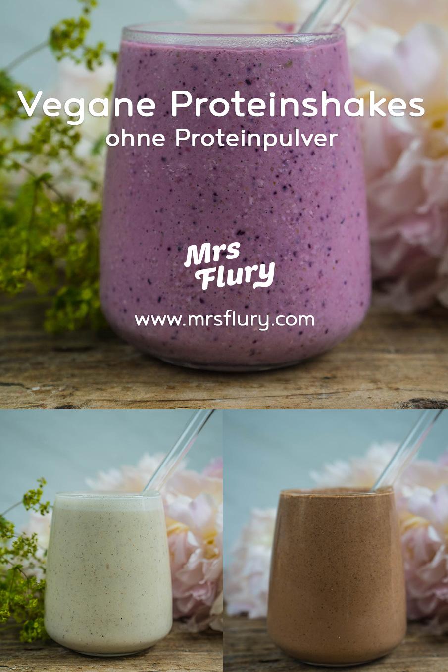 3 Vegane Protein Shakes ohne Proteinpulver Mrs Flury