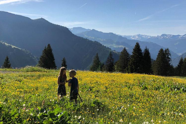 Unser Wochenende auf der Alphütte