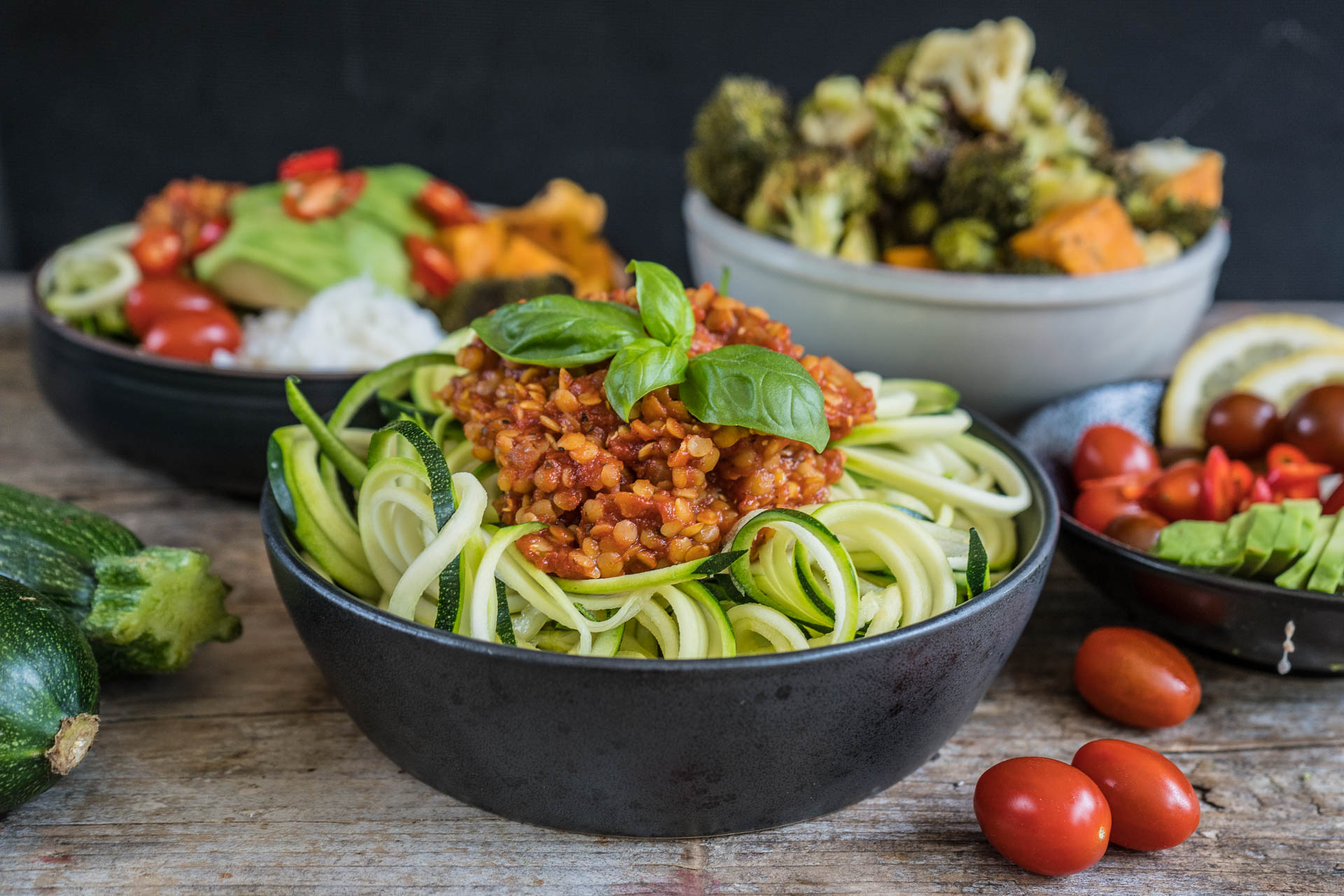 Zucchini Noodles - Zoodles Mrs Flury