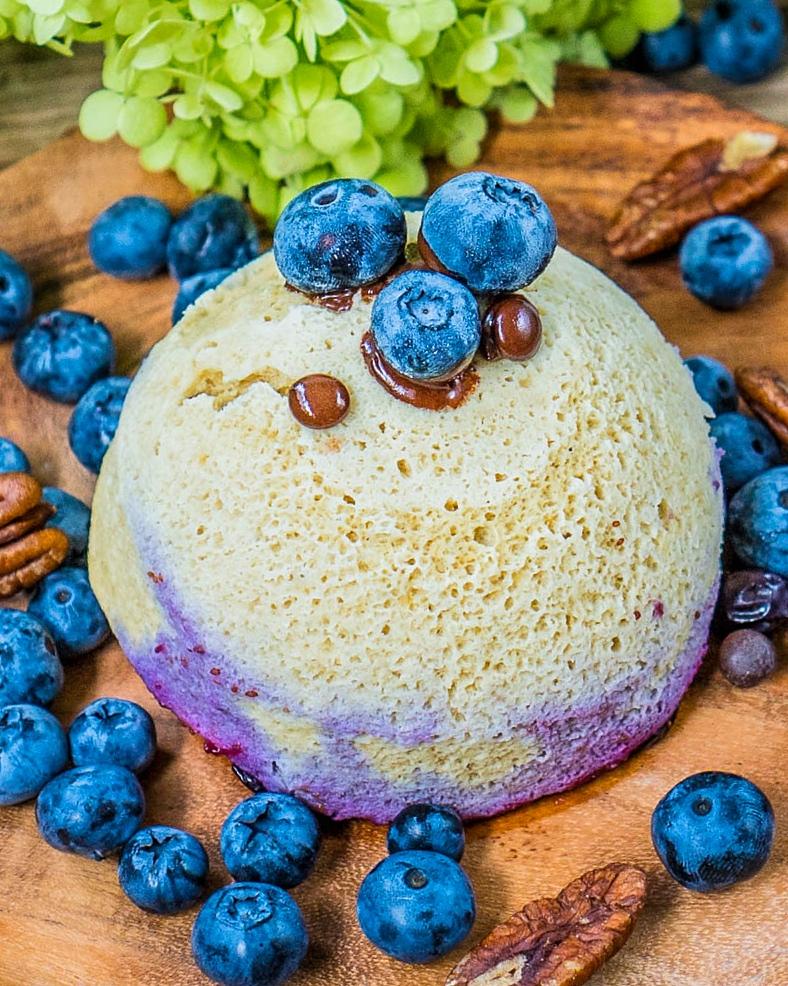 Low Carb Paleo Mug Cake gesund getreidefrei