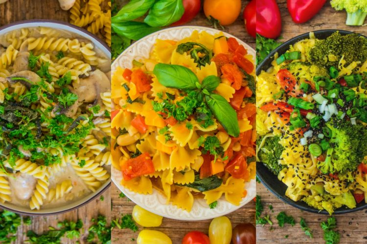Vegane One-Pot Pasta – 3 gesunde Rezepte