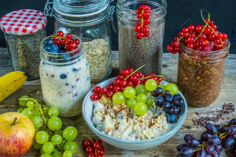 Meal Prep gesundes Frühstück / Oats & Smoothie