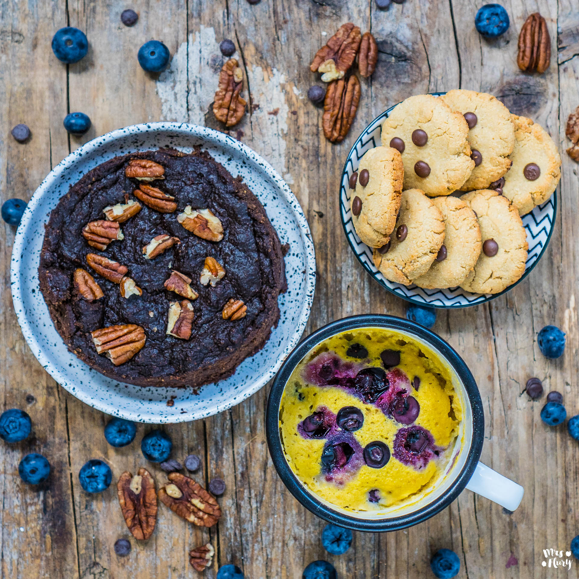 3 Gesunde Paleo Protein Desserts zuckerfrei