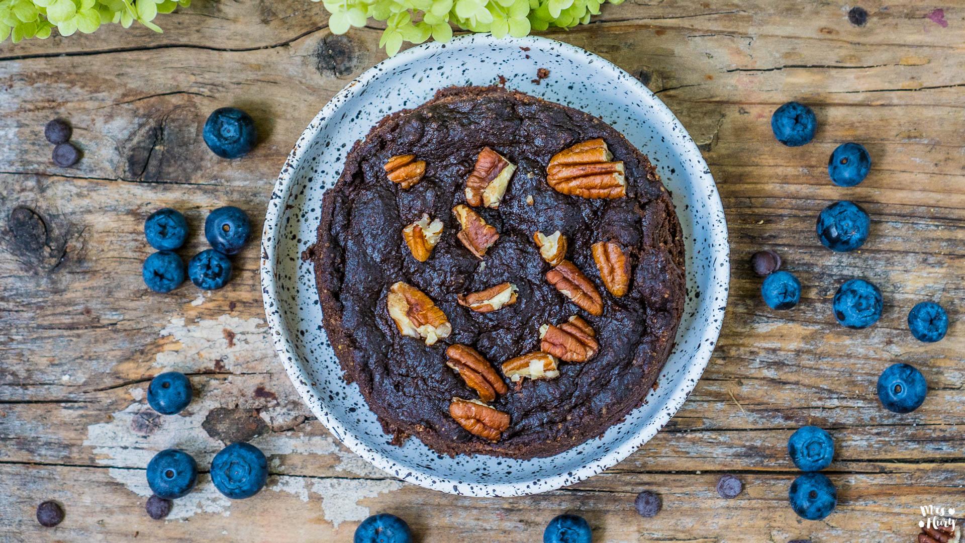 Paleo Brownie vegan & glutenfrei