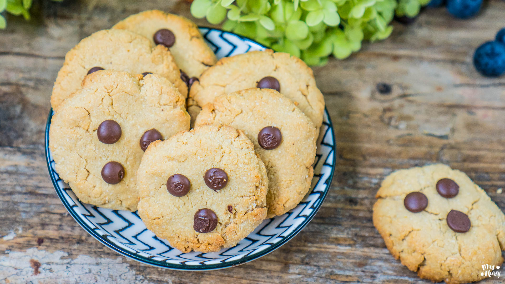Paleo Cookies Mrs Flury